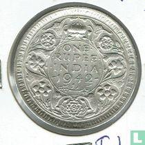 Brits-Indië 1 rupee 1942 (Bombay)