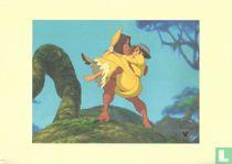 Tarzan - Jane in de armen van Tarzan