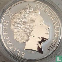 """Australië 1 dollar 2013 """"Kangaroo"""""""