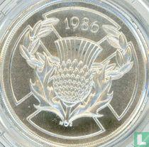 """Verenigd Koninkrijk 2 pounds 1986 (zilver) """"Commonwealth Games in Edinburgh"""""""