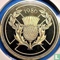 "Verenigd Koninkrijk 2 pounds 1986 (PROOF - nikkel-messing) ""Commonwealth Games in Edinburgh"""
