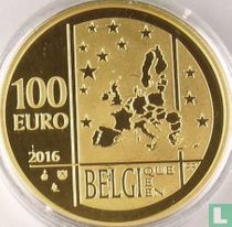 "Belgium 100 euro 2016 (PROOF) ""Centenary of the death of Gabrielle Petit"""