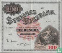 Schweden 100 Kronor 1962