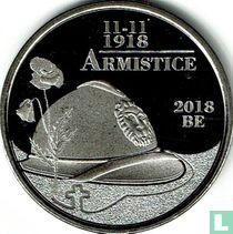 """Belgium 5 euro 2018 """"Centenary of the First World War Armistice"""""""