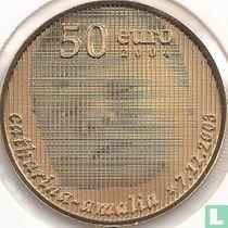 "Netherlands 50 euro 2004 (PROOF) ""Birth of Princess Catharina - Amalia"""
