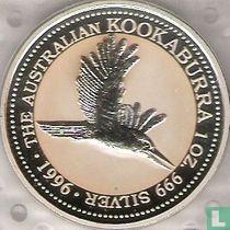 "Australië 1 dollar 1996 ""Kookaburra in flight"""