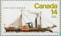 """Paddle Steamer """"Chief Justice Robinson"""""""