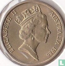 "Australië 1 dollar 1986 ""International Year of Peace"""