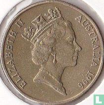 "Australië 1 dollar 1996 (zonder letter) ""Centenary of the death of Sir Henry Parkes"""