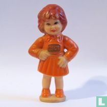 Usch [orange dress]