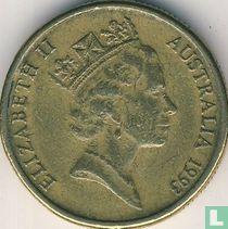 """Australië 1 dollar 1993 (zonder letter) """"Landcare Australia"""""""