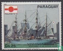 Gemälde von Schiffen