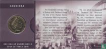 "Australië 1 dollar 2000 (folder- Canberra) ""Olymphilex Exhibition"""