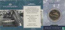 "Australië 1 dollar 2000 (folder - C) ""HMAS Sydney II"""