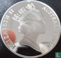 """Australië 10 dollars 1990 (PROOF) """"Western Australia"""""""