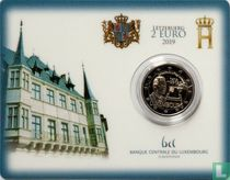 """Luxembourg 2 euro 2019 (coincard) """"Centenary of the universal suffrage in Luxembourg"""""""