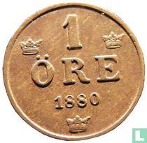 Zweden 1 öre 1880