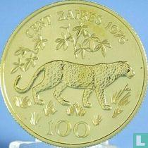 Zaïre 100 zaïres 1975