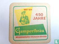 450 Jahre Gampertbräu