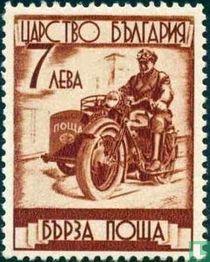 Motorfiets met zijspan