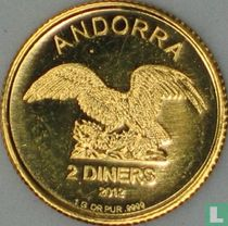 Andorra 2 diners 2012