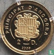 """Andorra 2 diners 2009 (PROOF) """"Charlemagne"""""""