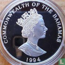 """Bahama's 5 dollars 1994 (PROOF) """"Juan Ponce de León"""""""