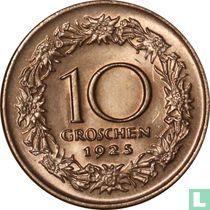 Austria 10 groschen 1925