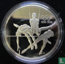 """Canada 15 dollars 1992 (PROOF) """"Centenary of the modern Olympic Games - Citius altius fortius"""""""