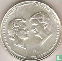 "België 250 francs 1999 ""Marriage of Prince Philip and Princess Mathilde"""