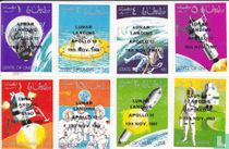 Space travel with overprint
