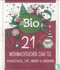 21 Weihnachtlicher Chai Tee