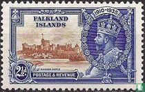 Koning George V - Zilveren jubileum