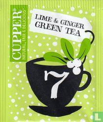 7 Lime & Ginger Green Tea