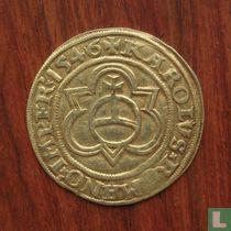 Deventer-Kampen-Zwolle goudgulden 1546