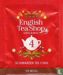 4 Schwarzer Tee Chai