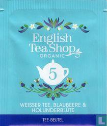 5 Weisser Tee, Blaubeere & Holunderblüte