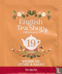 19 Weisser Tee, Lychee & Kakao