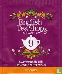 9 Schwarzer Tee, Ingwer & Pfirsich