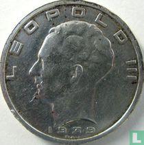 België 50 francs 1939 (NLD/FRA - positie A - met kruis op kroon)