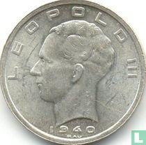 België 50 francs 1940 (NLD/FRA - met kruis op kroon - met driehoek)
