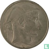 België 50 francs 1949 (muntslag)