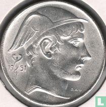 België 20 francs 1951 (muntslag)