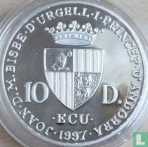 "Andorra 10 diners 1997 (PROOF) ""Johan Sebastian Bach"""
