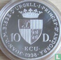 "Andorra 10 diners 1998 (PROOF) ""Georg Friedrich Händel"""