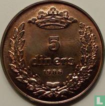 "Andorra 5 diners 1986 ""Joan D.M. Bisbe D'Urgell I"""