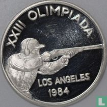 "Andorra 20 diners 1984 (PROOF) ""Summer Olympics in Los Angeles"""