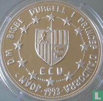 "Andorra 10 diners 1993 (PROOF) ""European Customs Union - St. George"""
