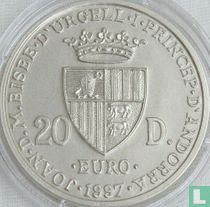"Andorra 20 diners 1997 ""40th anniversary Treaty of Rome"""