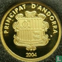 "Andorra 5 diners 2004 (PROOF) ""Andorran membership in the United Nations"""